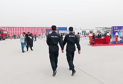 大型活动安保巡逻