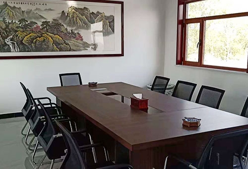 振东保安公司会议室